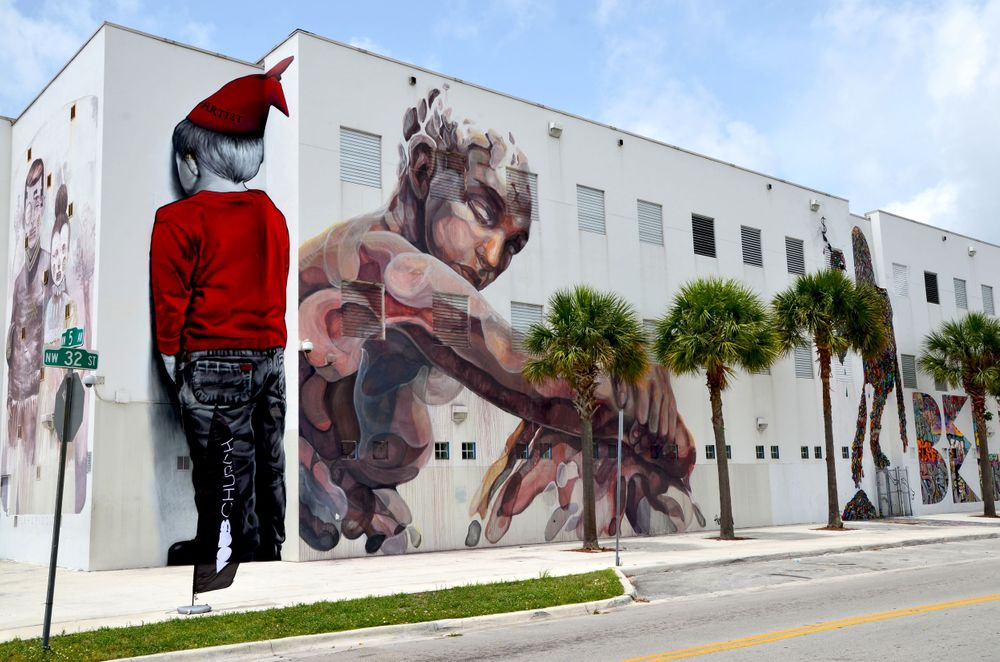 Mural in Miami Travel Photography by Charity Beth Long