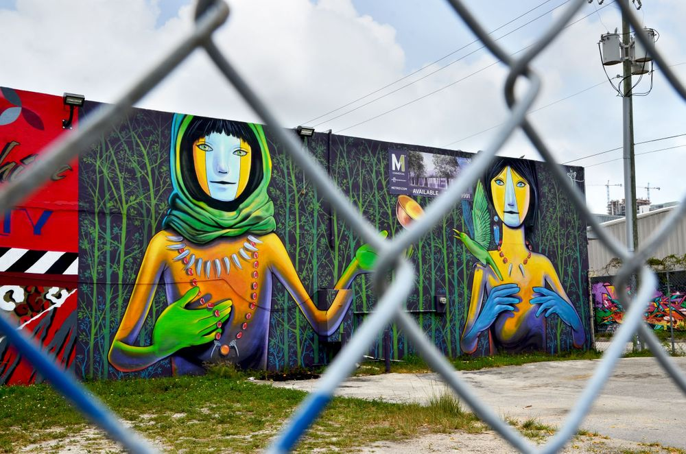 Miami Mural Travel Photography by Charity Beth Long