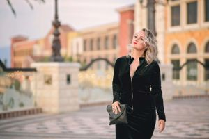 Julia Fashion photo shoot at The Venetian Las Vegas