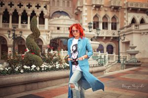 Julia Fashion photo session at The Venetian Las Vegas