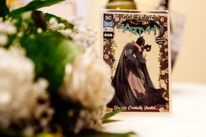 batman and catwoman themed wedding in Italy