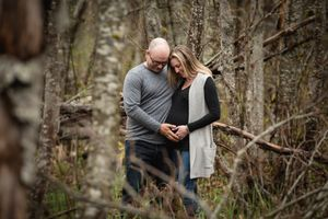 Whistler Maternity Photography Outdoors Nature Forest