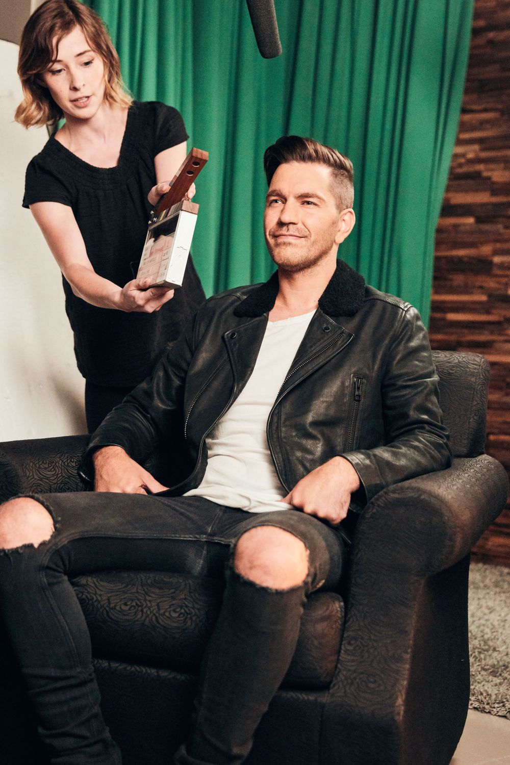 Behind The Scenes with Andy Grammer at Only In Nashville. Photo by Joel Alexander