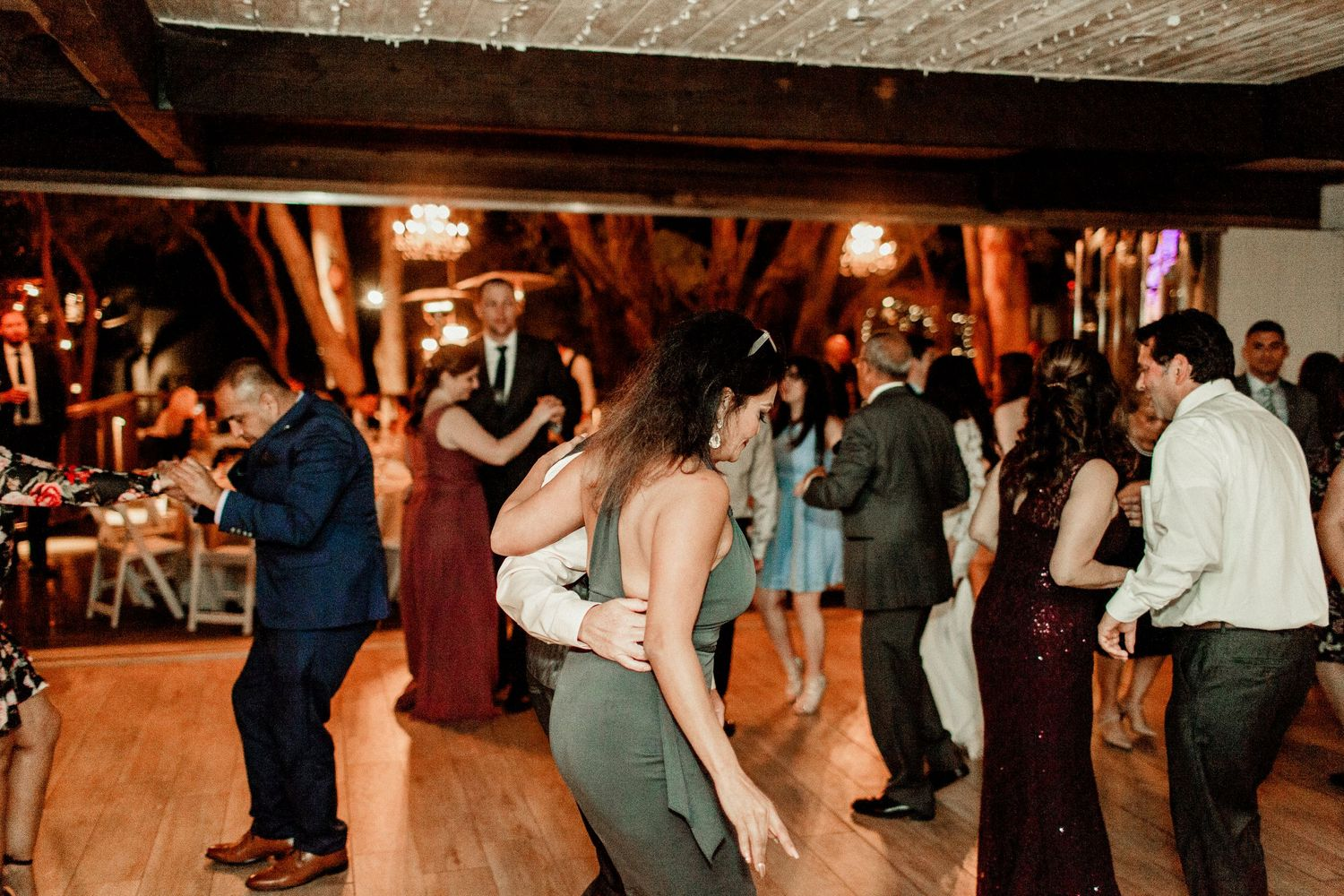 guests dancing on dance floor