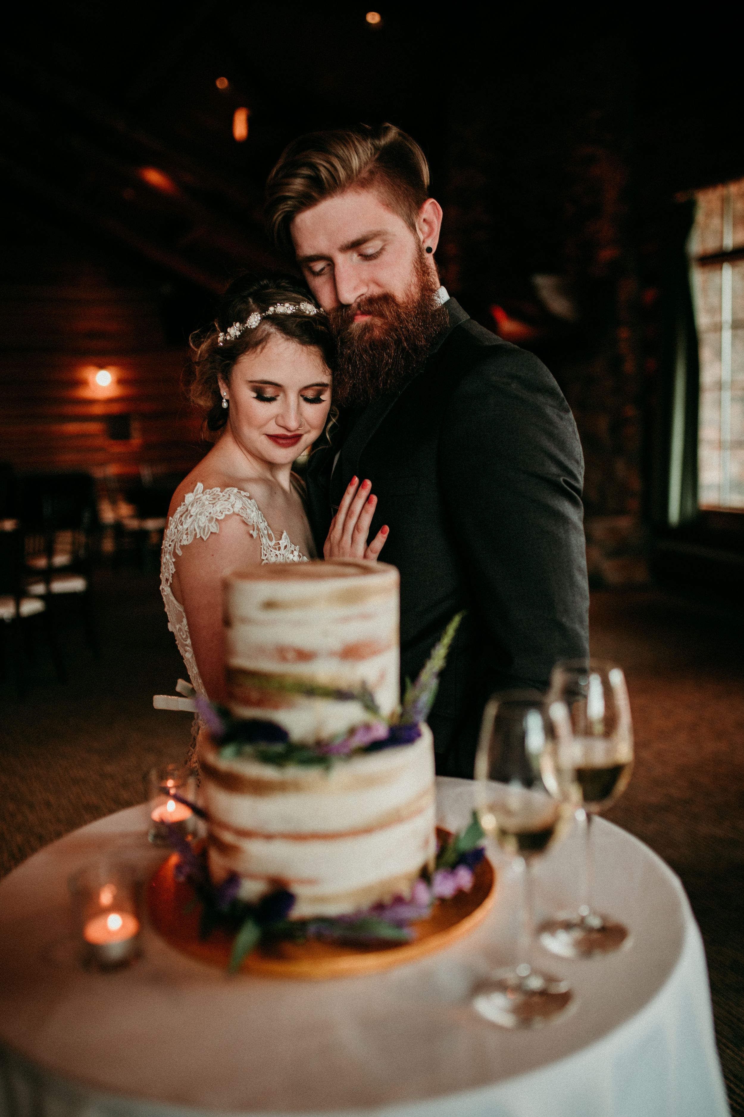 Couples and Wedding Cake