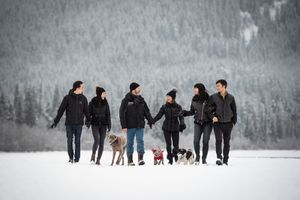 Whistler Family Photography Outdoors Snow Winter