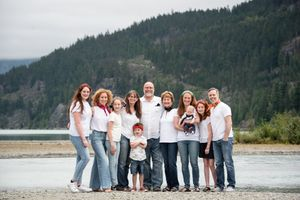 Whistler Family Photography Outdoors Nature Family Reunion Summer