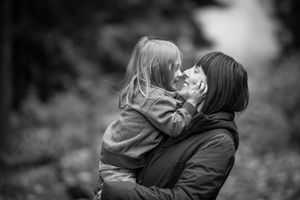 Whistler Family Photography Outdoors Nature Mother Son