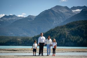 Whistler Family Photography Outdoors Nature Mountains Lake Summer