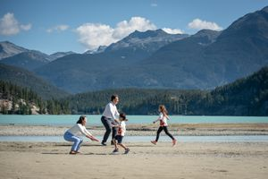 Whistler Family Photography Outdoors Nature Summer Running
