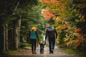 Whistler Family Photography Outdoors Nature Fall colours