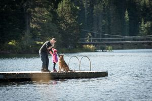 Whistler Family Photography Outdoors Nature Lake Summer