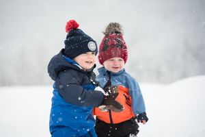 Whistler Family Photography Outdoors Nature Winter Snow