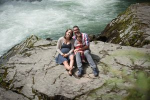 Whistler Family Photography Outdoors Nature Summer River