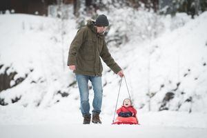 Whistler Family Photography Outdoors Nature Winter Fun Snow