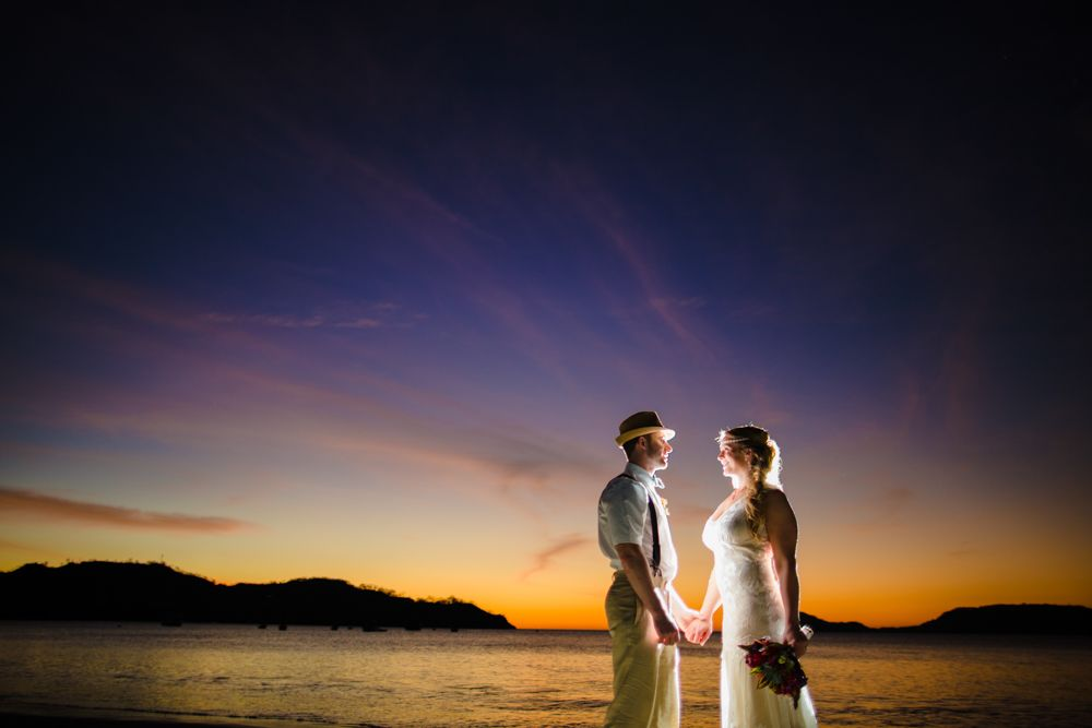 Wedding at Papagayo, Guanacaste.