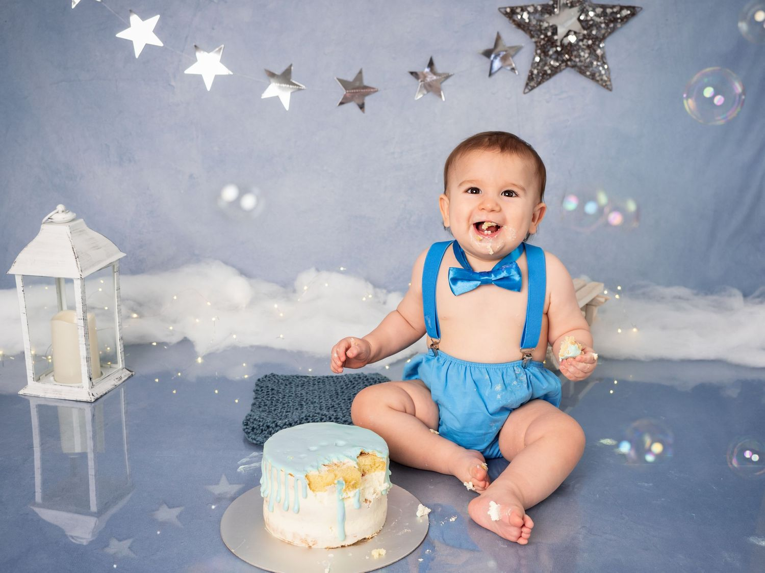 Baby boy Cake Smash session in Mödling, Austria