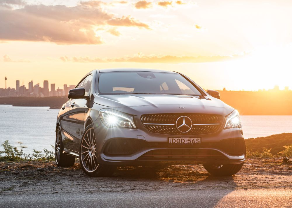 Mercedes Benz shot by Bill Chen photographer