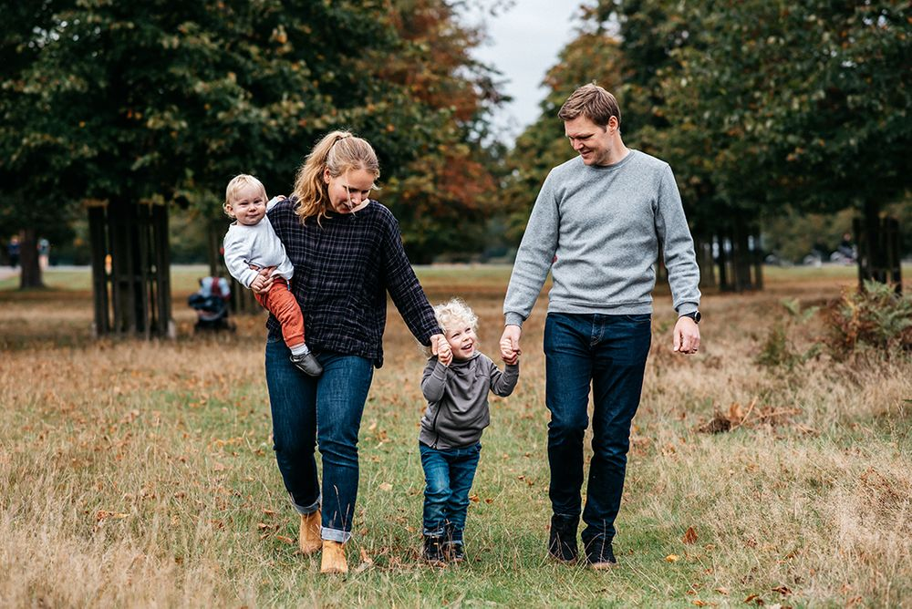 bushy park family photography