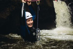 canyoning scotland dollar glen