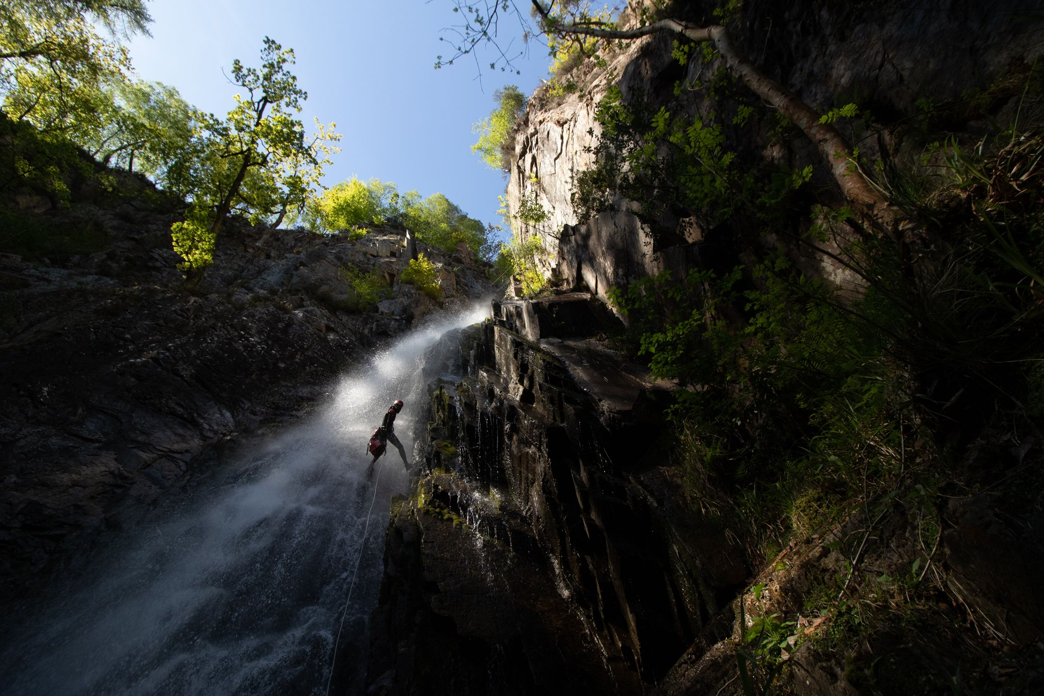 The Adventure Photographers Grey Mare's Tail Kinlochleven Canyoning