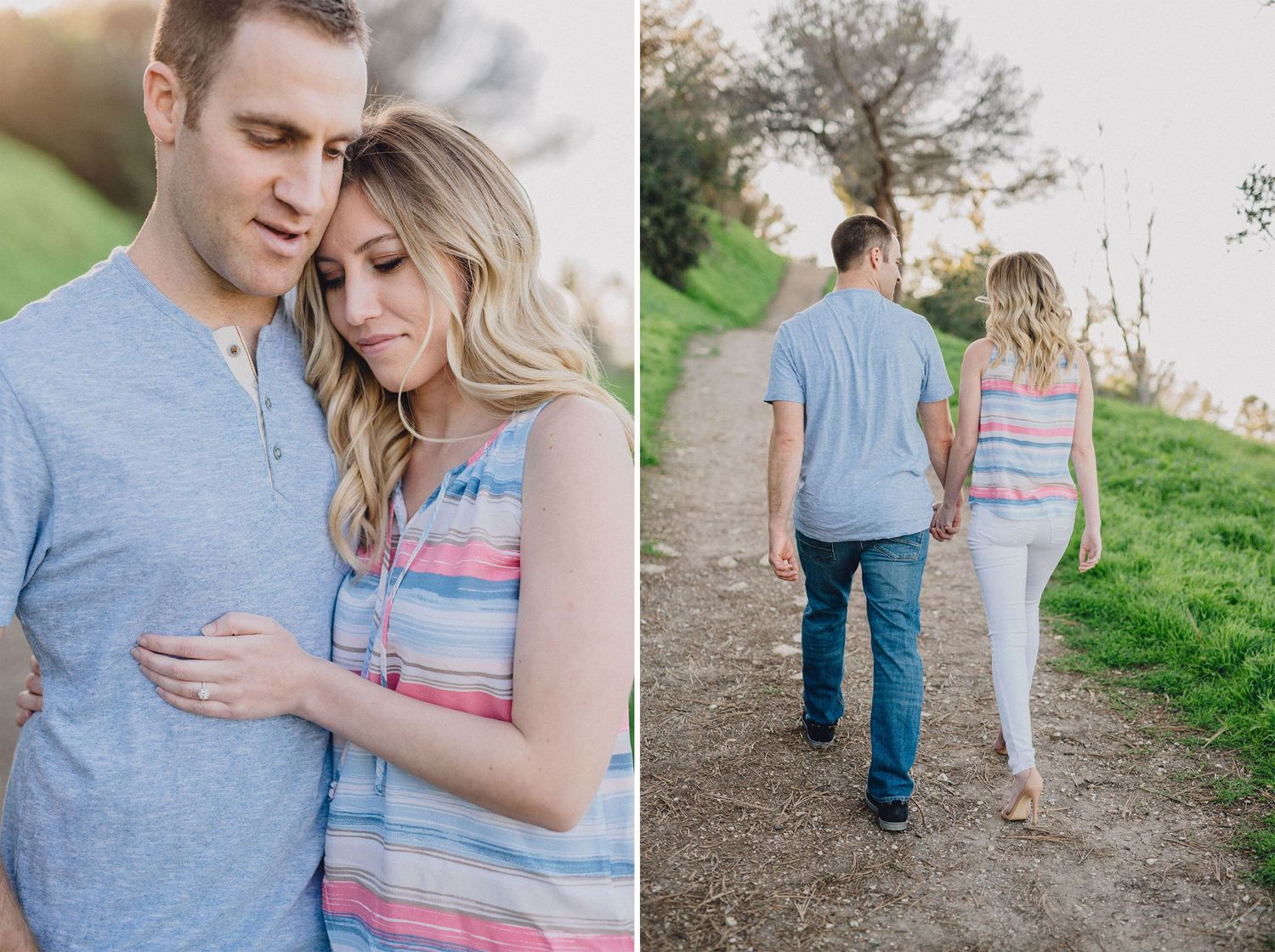 palos verdes trail engagement photo