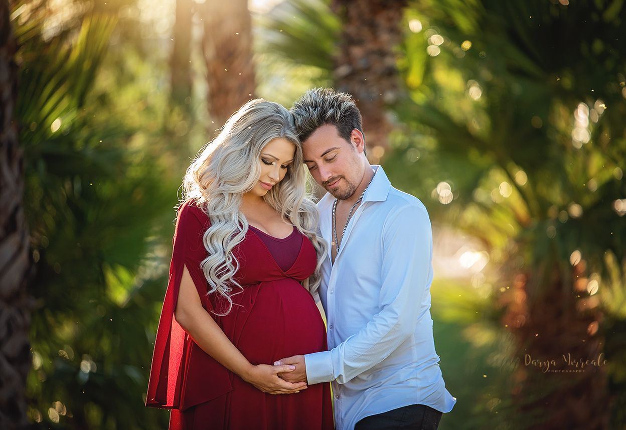 Stacy and Tommy Maternity in Lake Las Vegas 2