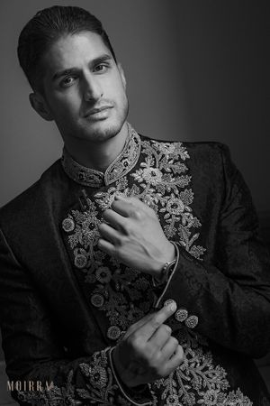 London hindu wedding groom looking handsome. civil at beaumont estate windsor.