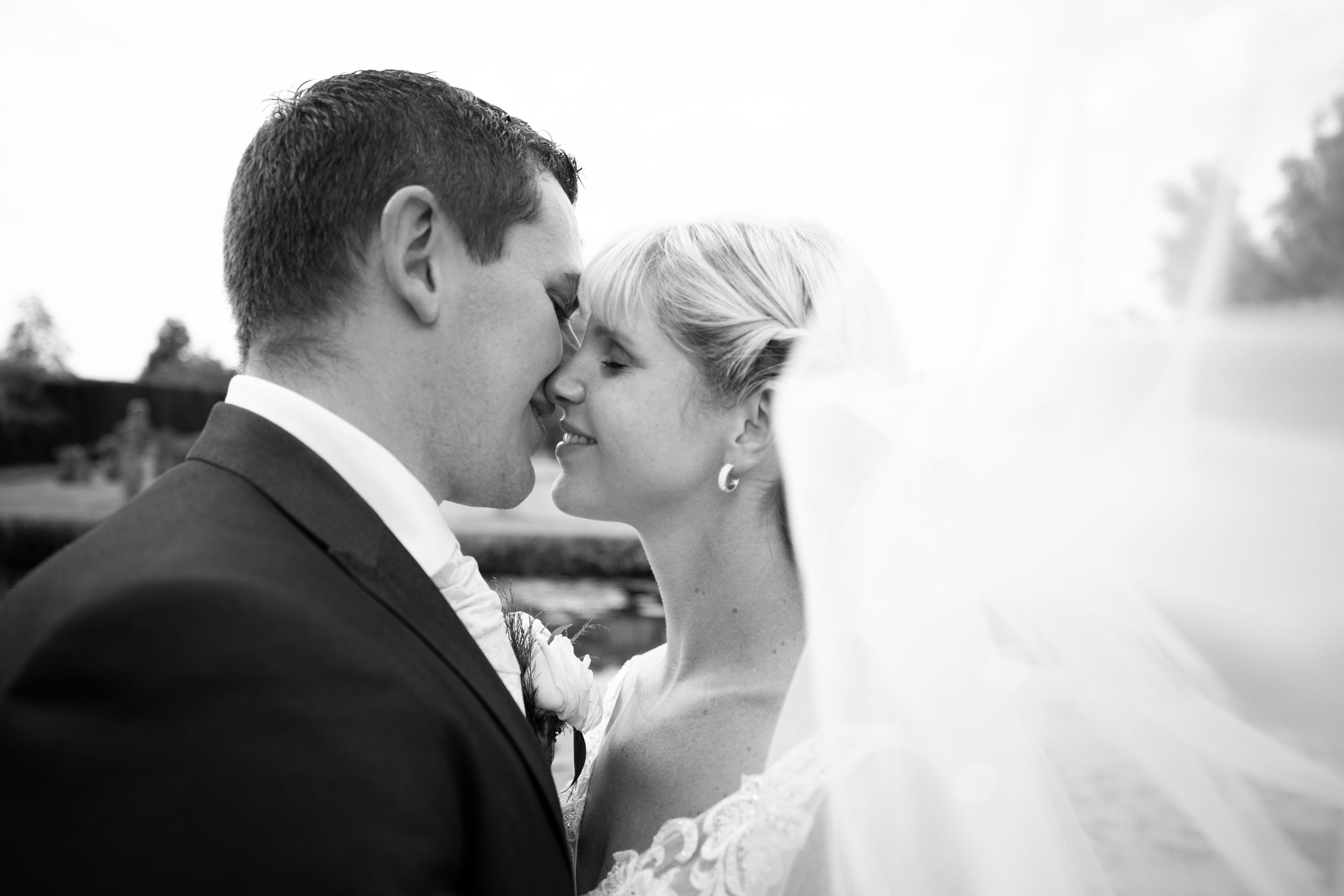 Bride and Groom Photography Norfolk Mannington Hall