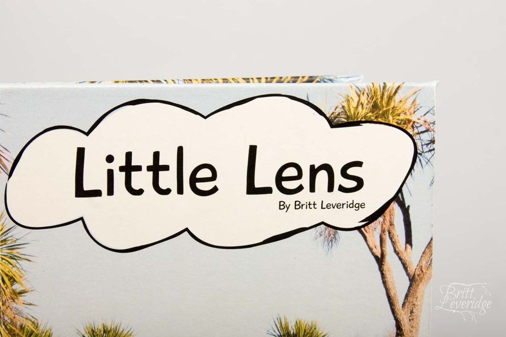 """Little Lens"" Handmade childrens book"