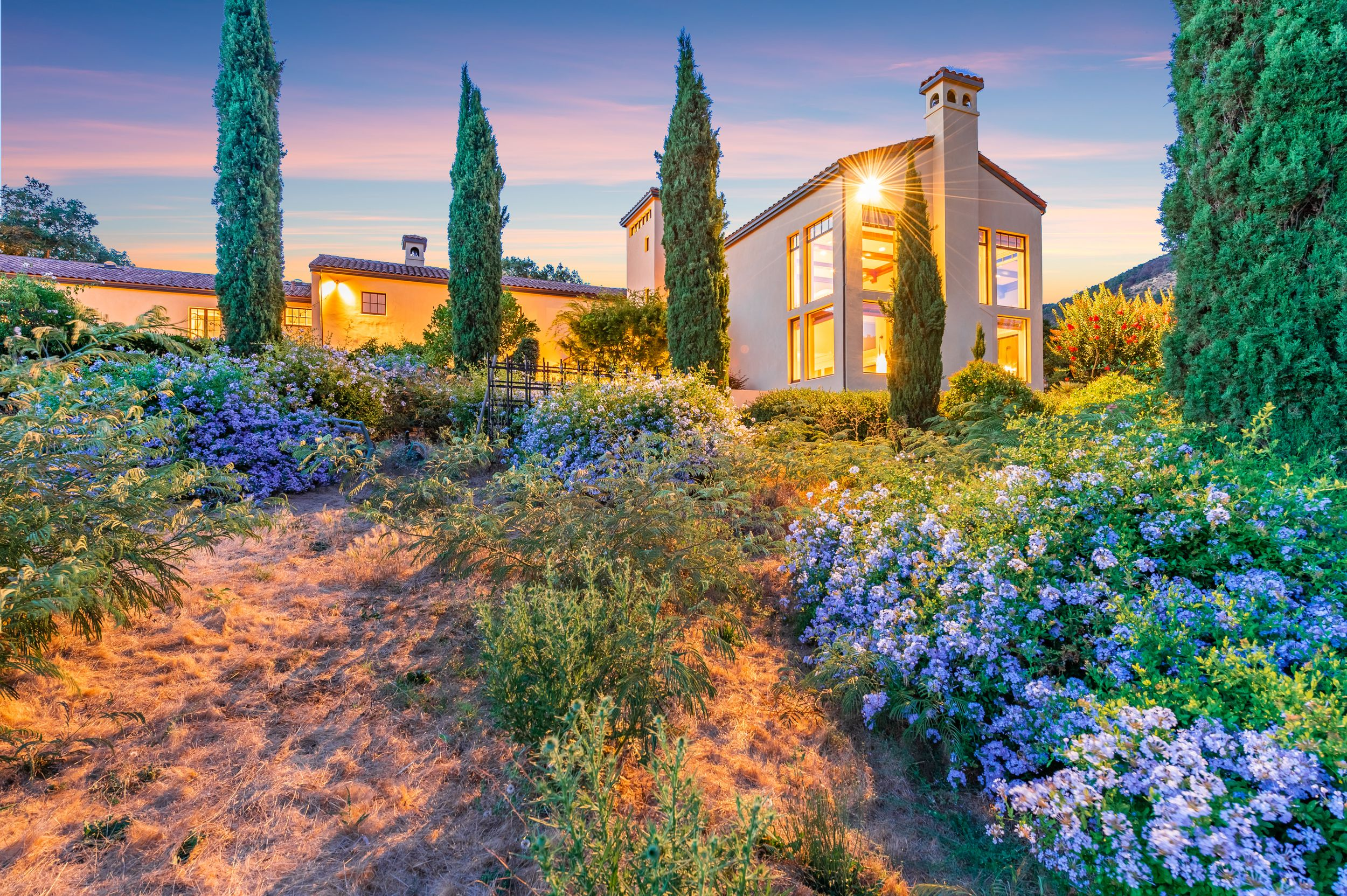 Napa Valley Twilight Real Estate Photography