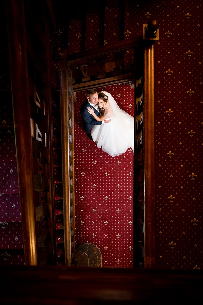 Bride and Groom image by Essex based wedding photographer Mark Coventry