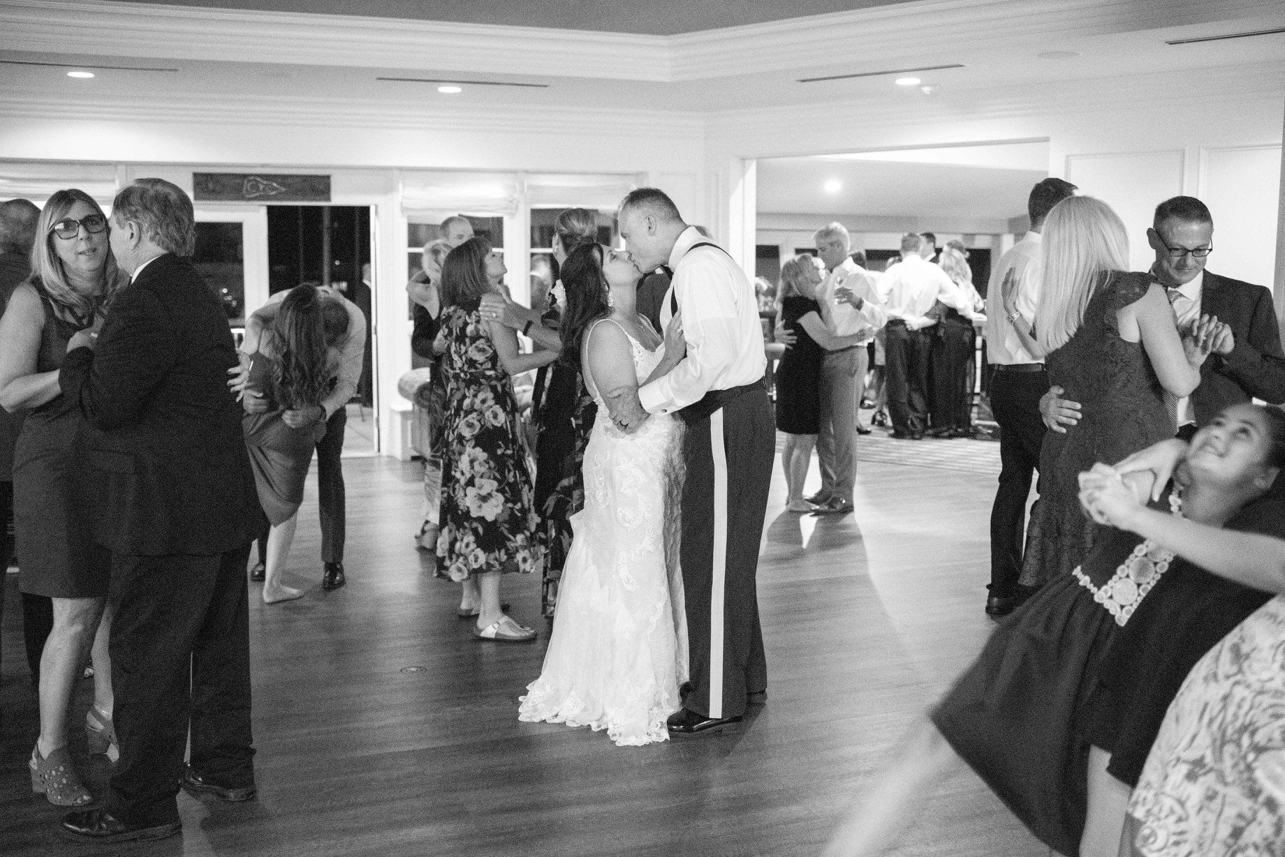 wedding dance, Cleveland Yachting Club, Ohio