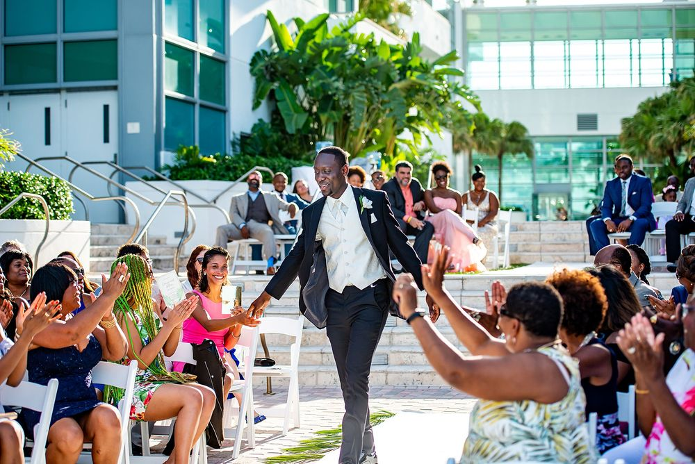 Diplomat wedding ceremony Hollywood FL