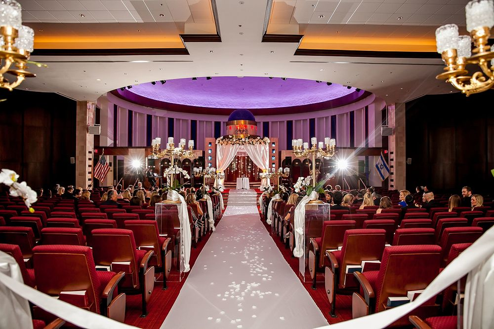 ATJC Aventura Turnberry Jewish Center wedding ceremony