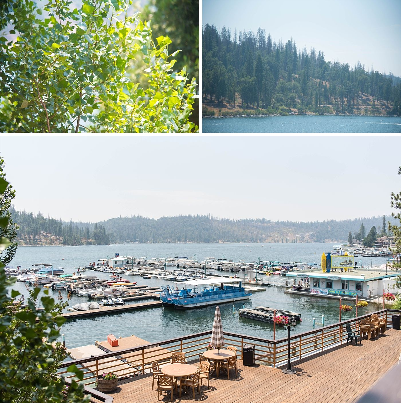 bass lake pines resort California destination wedding