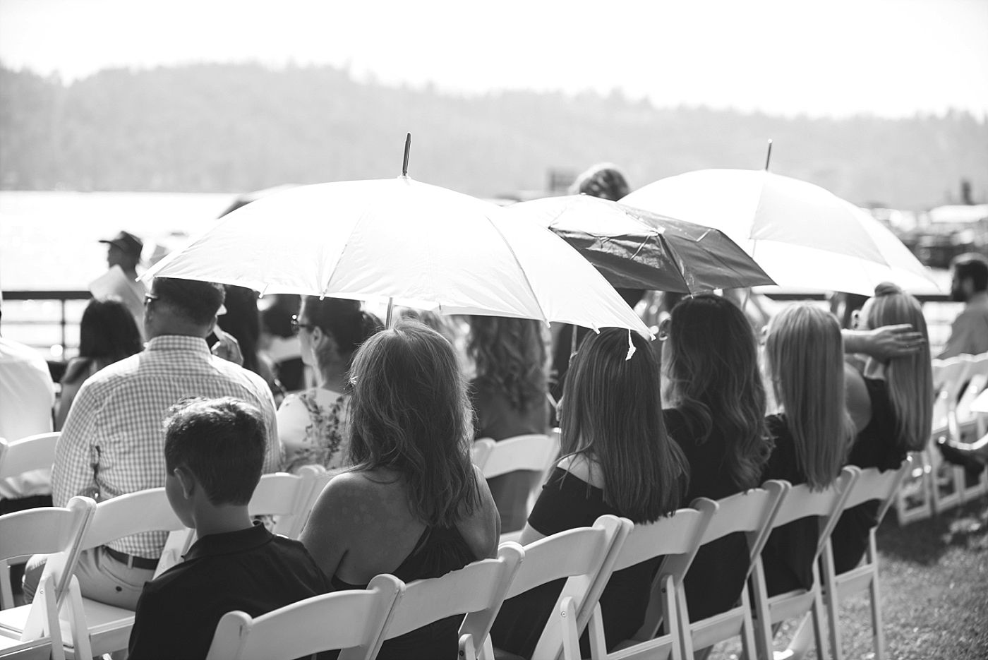 bass lake pines resort California destination wedding ceremony