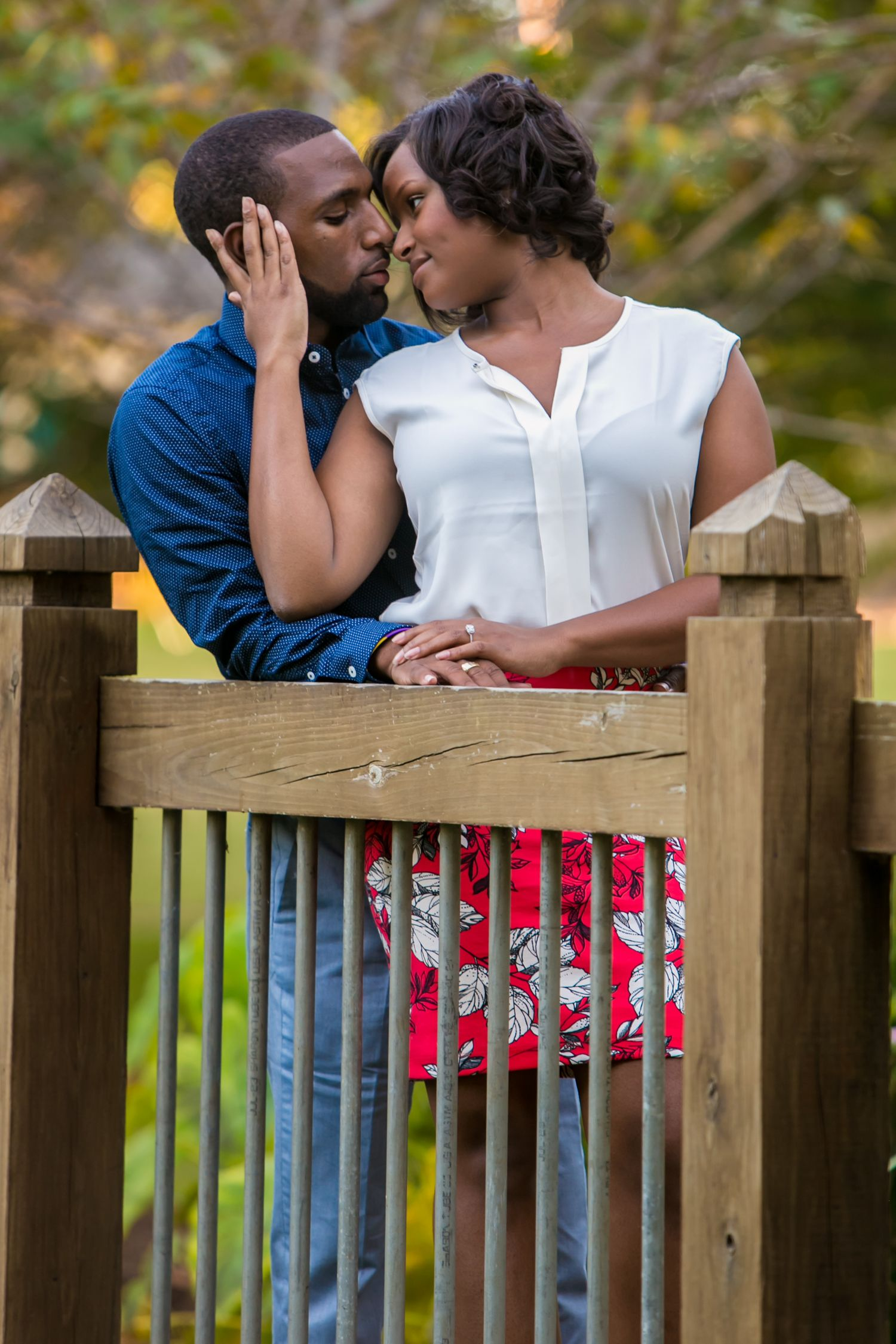 Irmo Town Park  engagement portrait by Columbia, SC, Wedding Photographer Jeff Blake