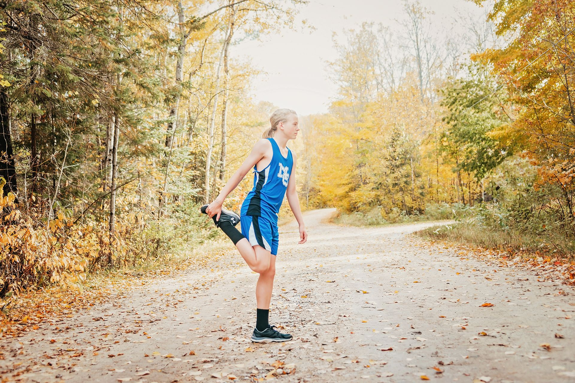 northern Michigan fall senior pictures