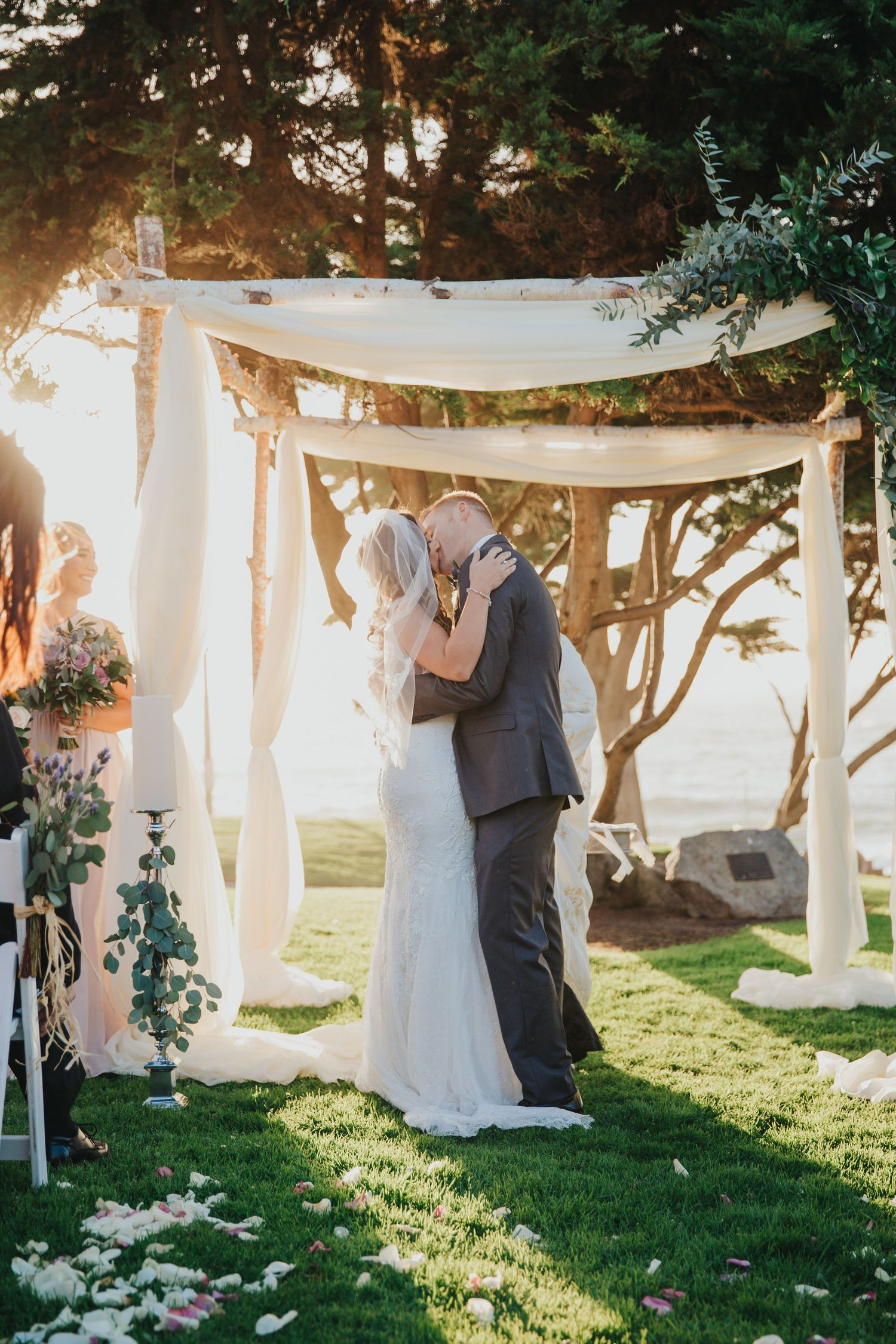 Ceremony Kiss | Redondo Beach Historic Library