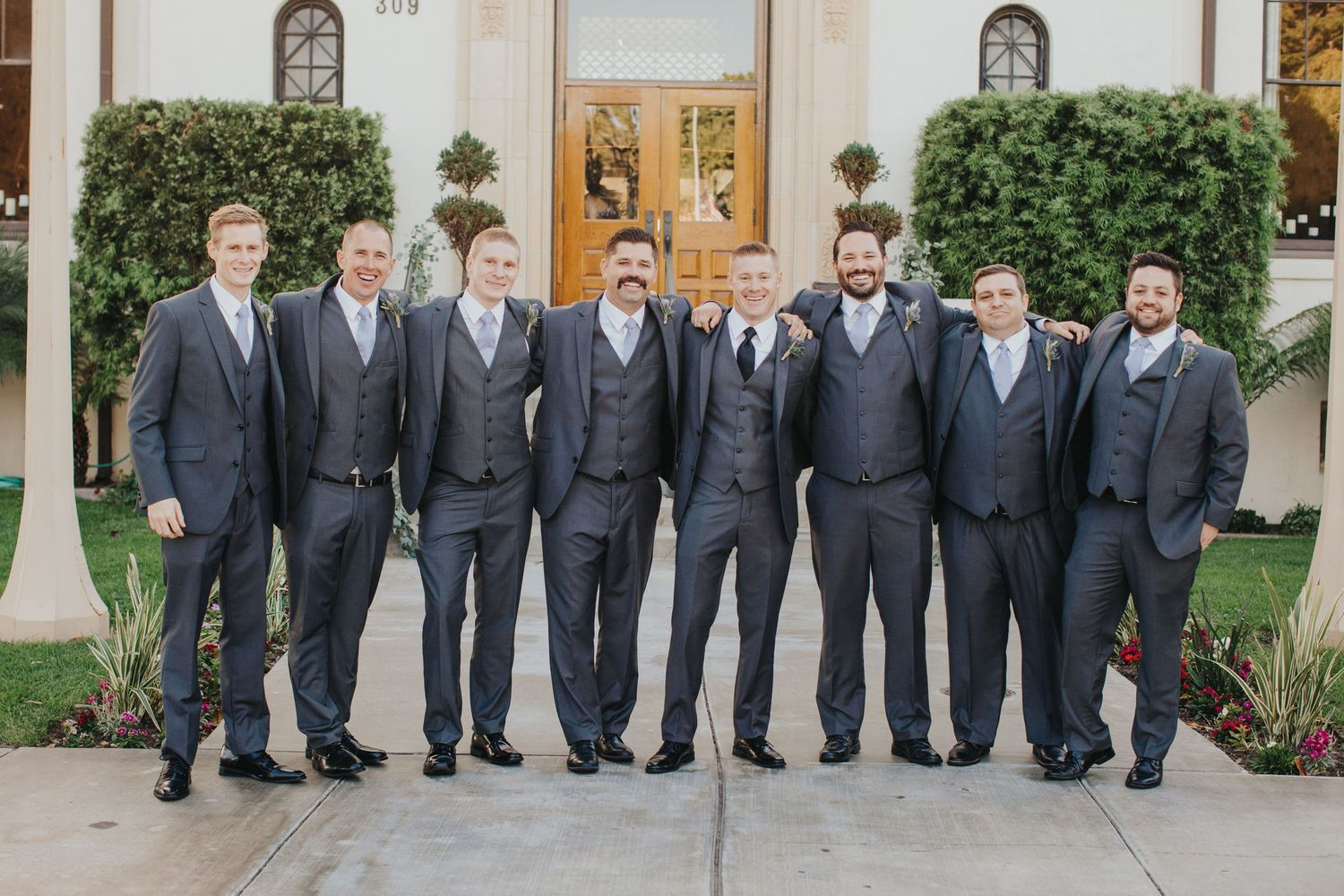 Groomsmen Fun | Redondo Beach Historic Library