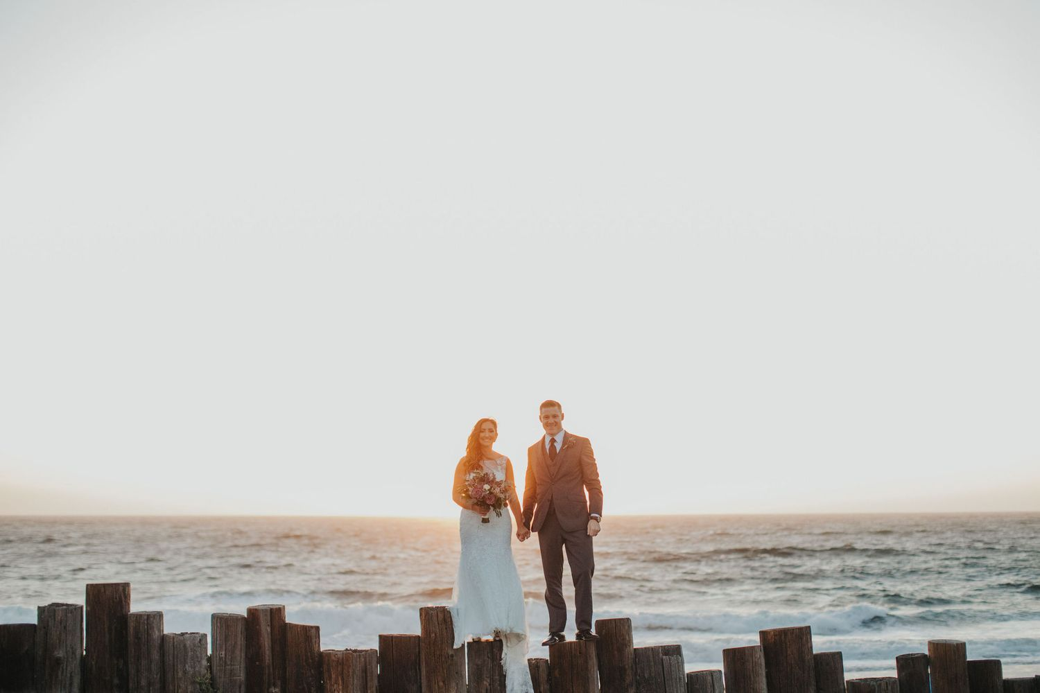 Sunset Wedding | Redondo Beach Historic Library