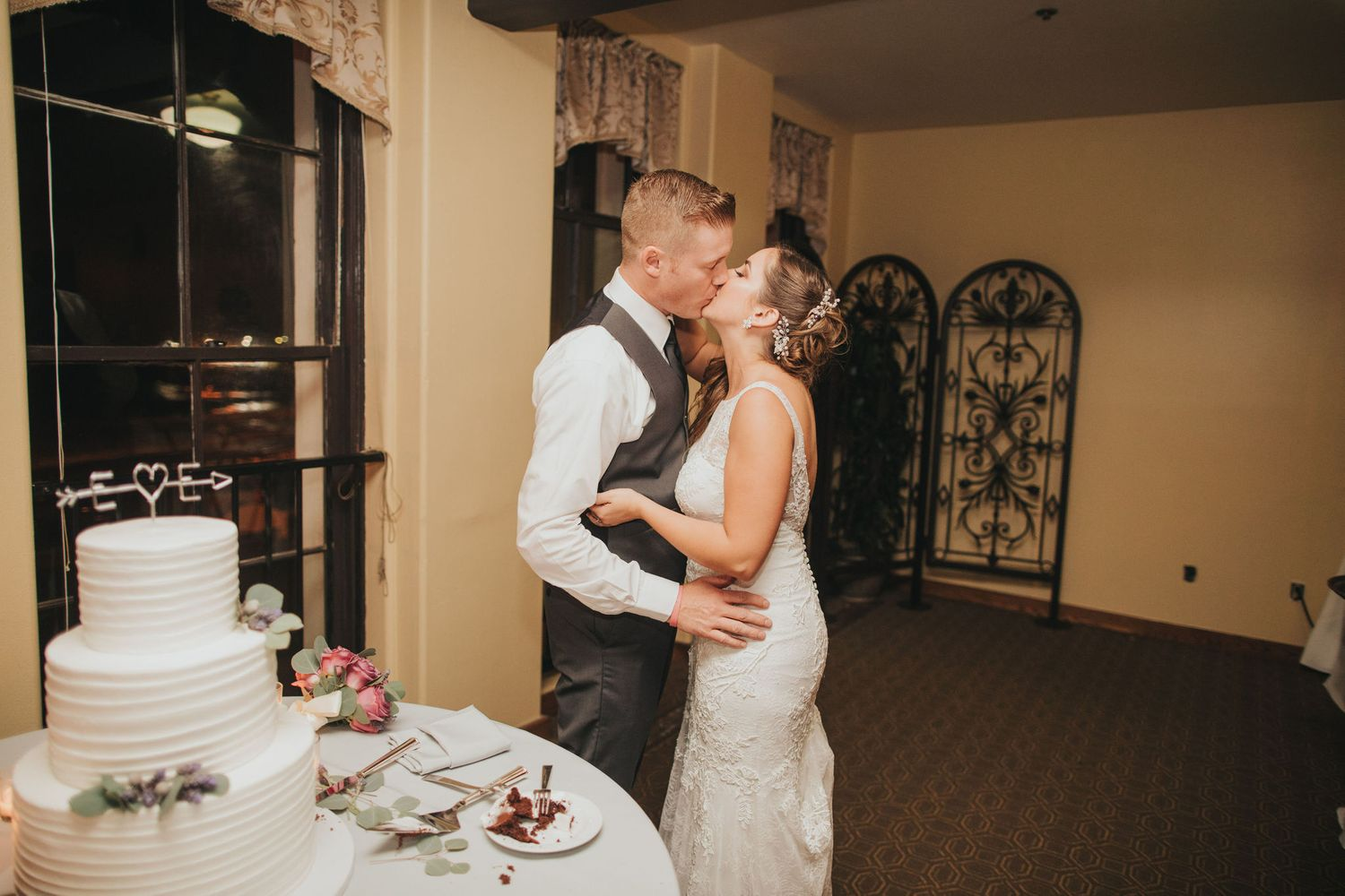 Wedding Kiss | Redondo Beach Historic Library