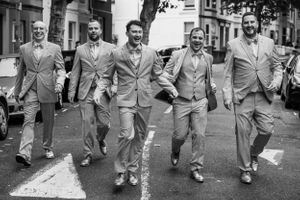 the groomsmen before the big day in Brighton, Robert Nelson Wedding Photography