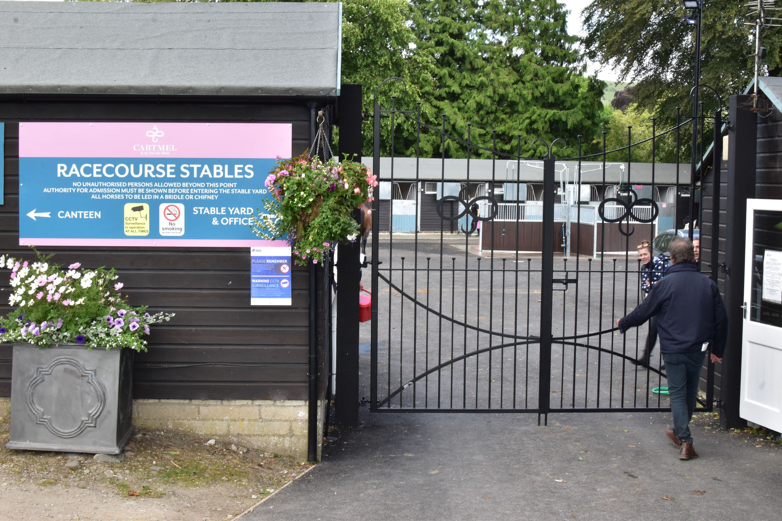 The New Stables at Cartmel Racecourse