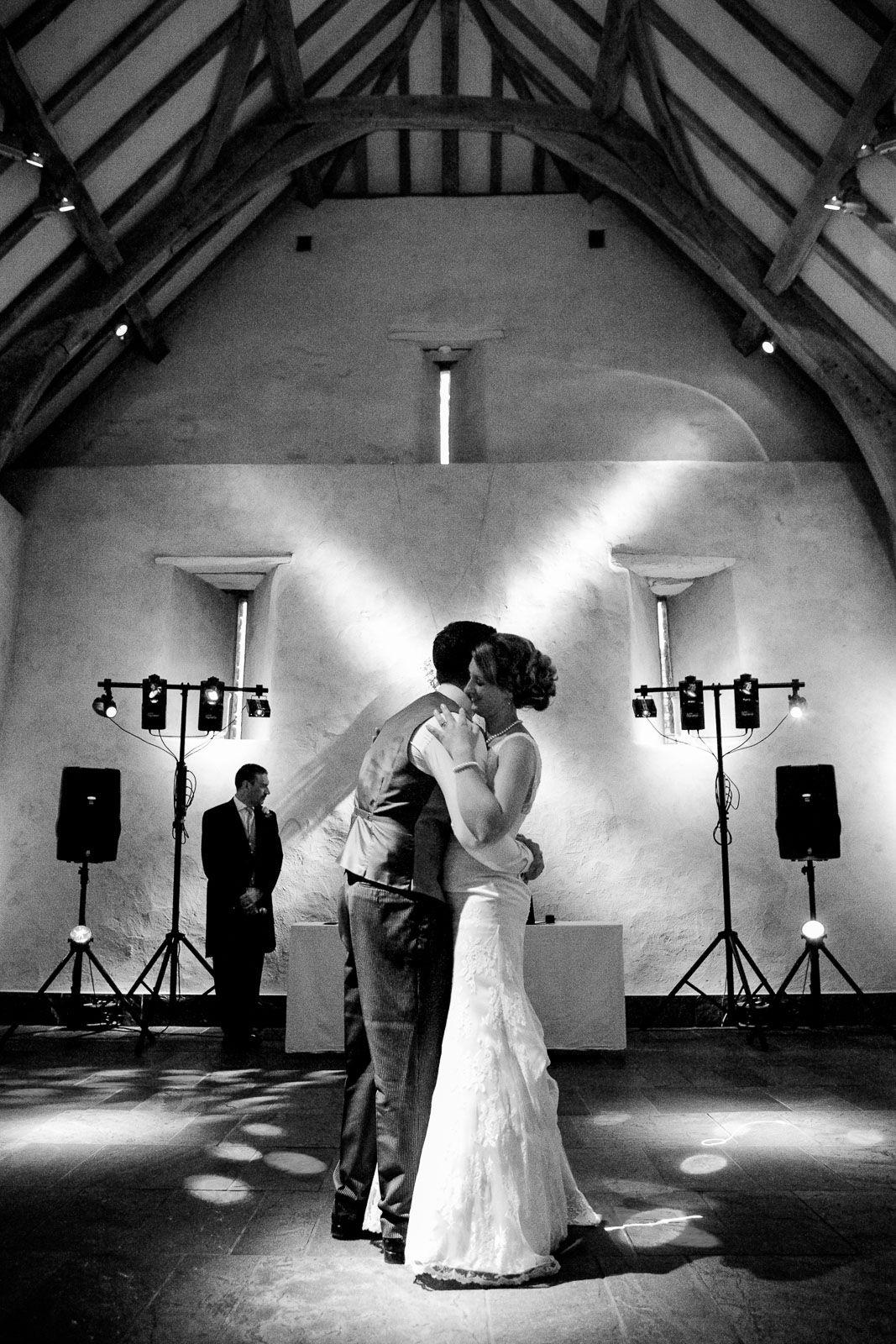 first dance at Great barn Devon