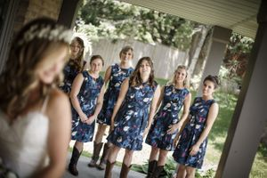 The Bridesmaids first look