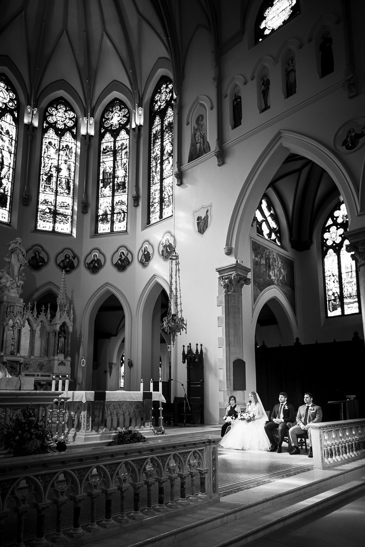Basilica of our Lady Guelph Wedding