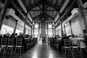 Grey Silo Wedding Chapel