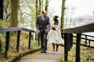 Forbes of Kingennie wedding Angus elopement Boat house